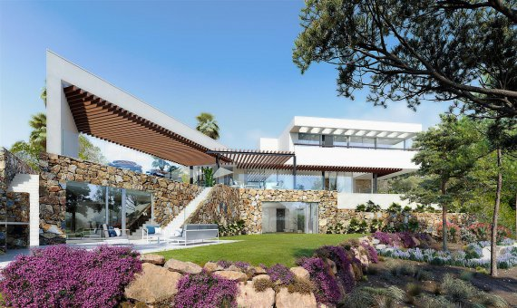 Вилла в Аликанте, Сан-Мигель-де-Салинас, 570 м2, бассейн -