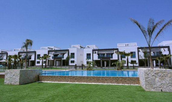 Квартира в Аликанте, Гвардамар-дель-Сегура, 80 м2, бассейн   | 2