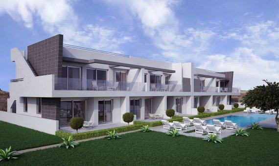 Квартира в Аликанте, Санта-Пола, 100 м2, бассейн -